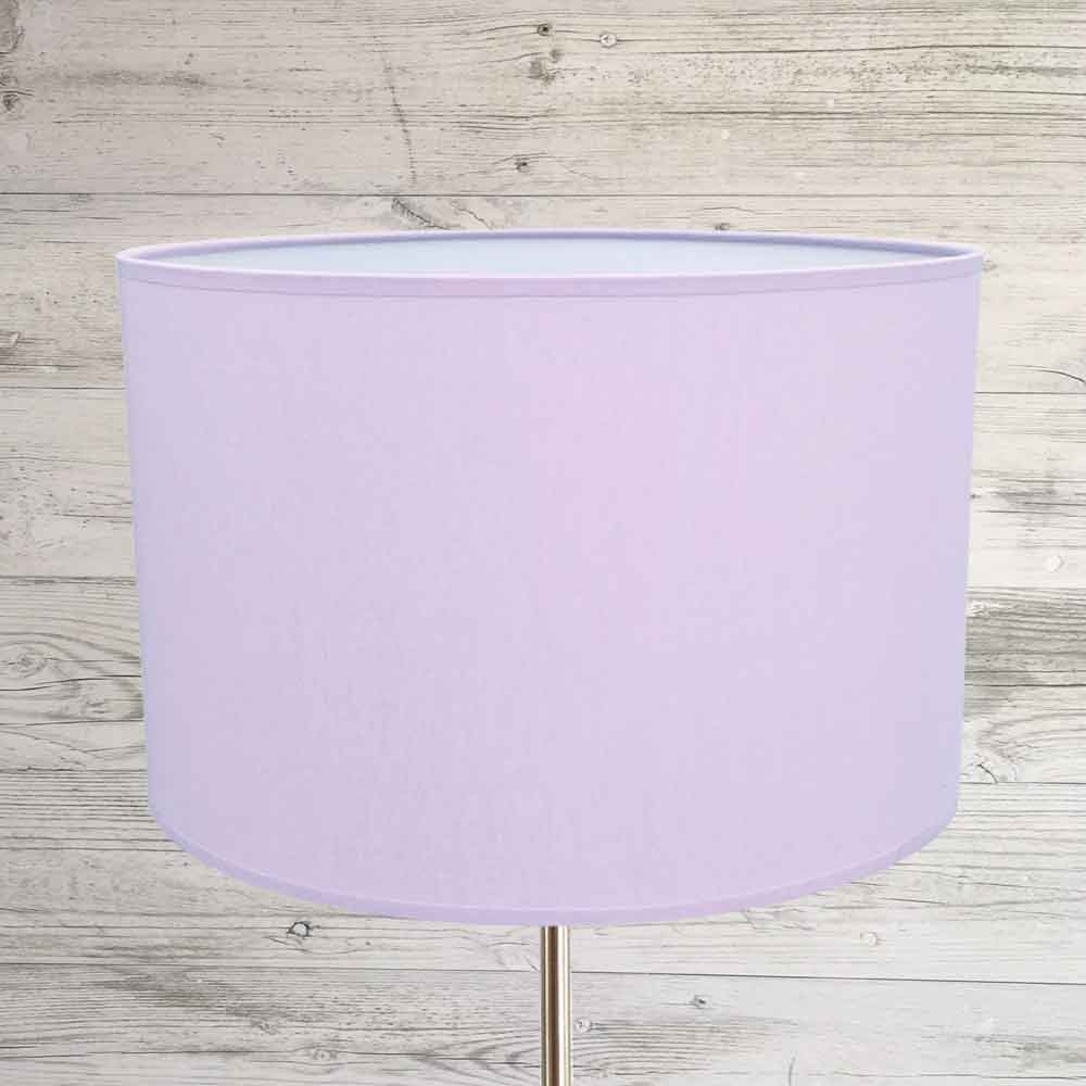 Drum Lampshade Lilac